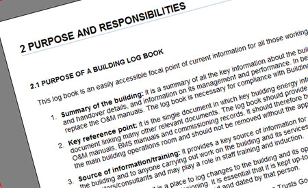 Building Log Book