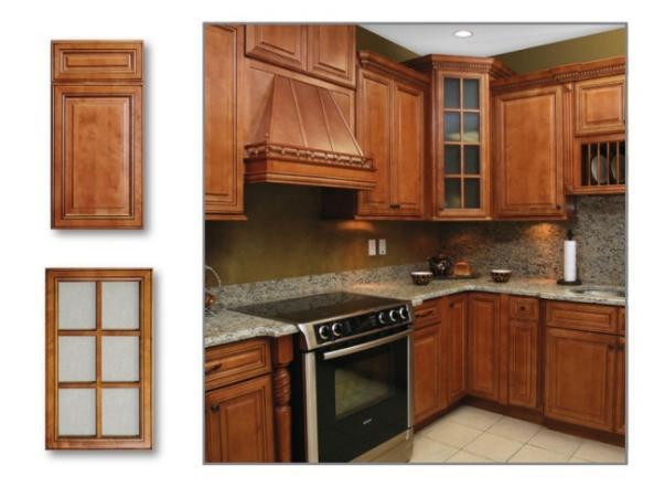 New Yorker Maple TSG Kitchen Cabinets RTA all wood no