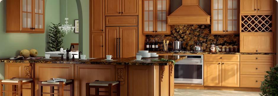 tsg forevermark k series honeyglaze rta cabinets kitchen