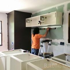 Ikea Kitchens Cabinets Kitchen Bistro Set Cabinet Installation Installing Upper
