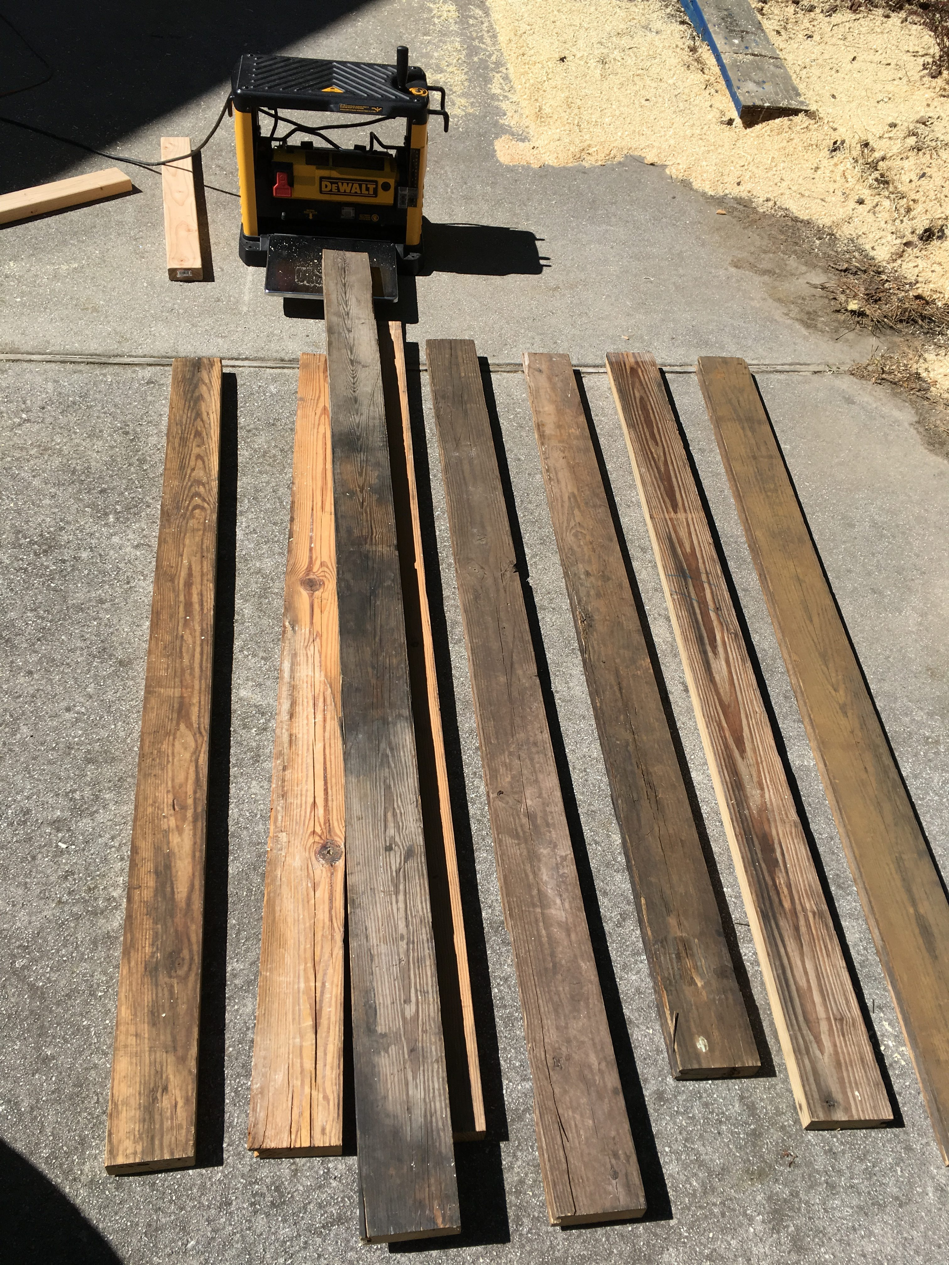 Linseed Oil Stained Wood