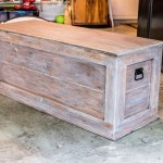 How To Build An Easy Diy Bedroom Storage Chest For Blankets Building Our Rez