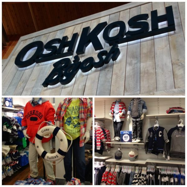 Oshkosh 'gosh Spring Line Fashion Kids #oshkoshbgosh