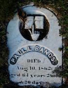 Cemetery 25 Bangs Paul