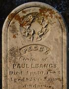 Cemetery 25 Bangs Peggy