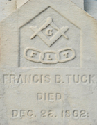 Cemetery 25 Tuck Francis