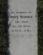 Cemetery 24 Whorf John