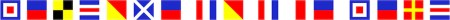 2020 Commercial 83 Gallery Signal Flags copy