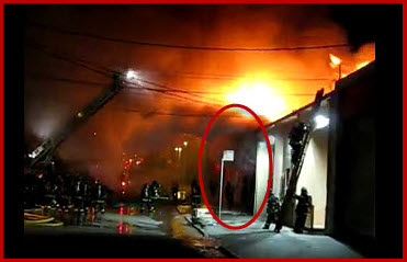 Collapse of Bowstring Truss Roof Seriously Injures Fire