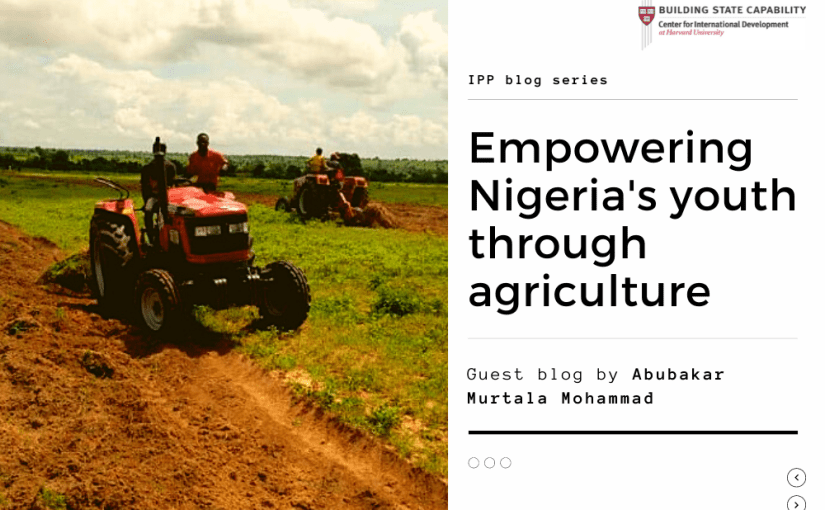 Encouraging Nigeria's youth to engage in agribusiness