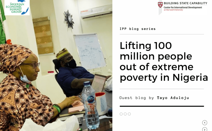 How PDIA helped me build Nigeria's poverty alleviation plan