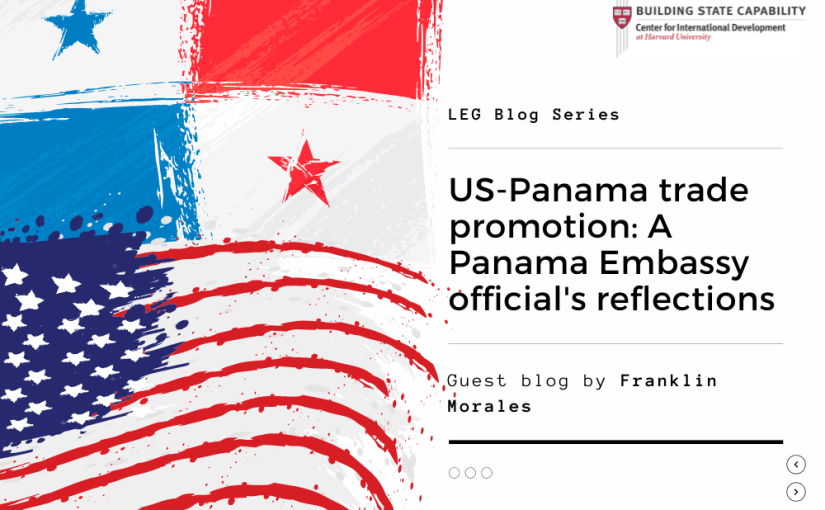 Panama Embassy official writes about promoting US-Panama trade ties