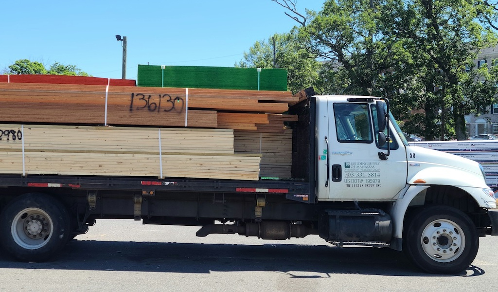 Building Supply of Manassas Delivery Truck