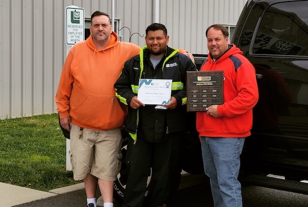 Rigo Lopez March 2020 Employee of the Month