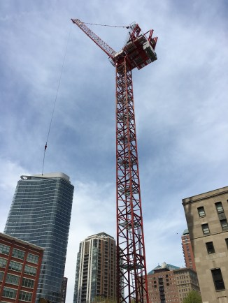 1101 South Wabash tower crane 9