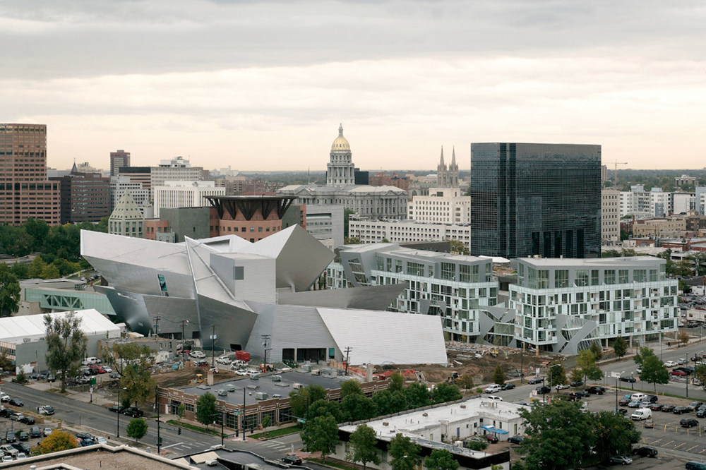 Libeskinds Extension to the Denver Art Museum  Buildipedia