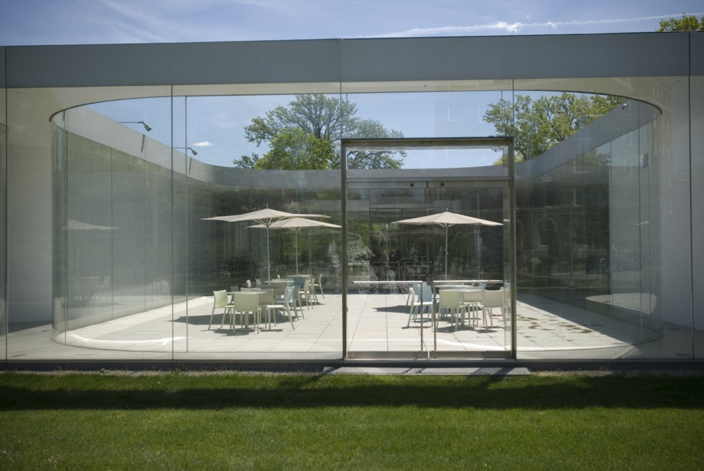Pritzker Prize Worthy SANAAs Glass Pavilion At The