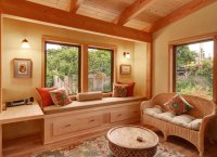 Wooden Build Your Own Window Seat PDF Plans