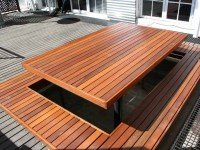 Wood Patio Decking