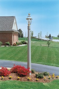 Light Up the Night with Decorative Fypon Lamp Posts ...