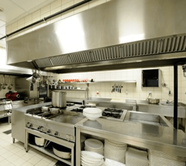 industrial kitchen hood in Planning & Ideas on Commercial Kitchens | Texas Allied