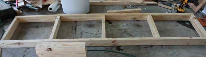 Garage Shelves tutorial - Build It Craft It Love It