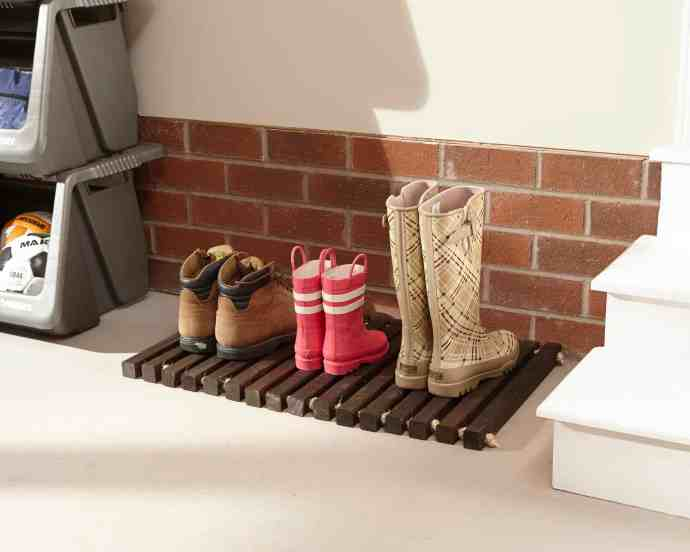 Wooden Door Mat