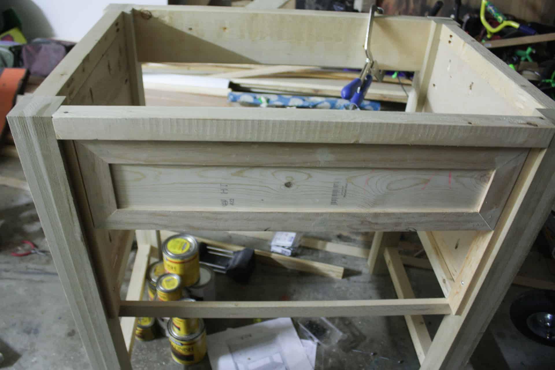 Diy Knockoff Pottery Barn Classic Single Sink Vanity