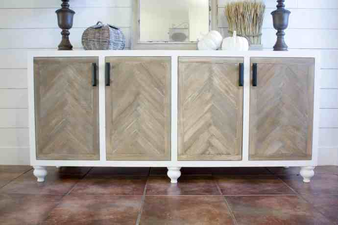 Herringbone Door Buffet