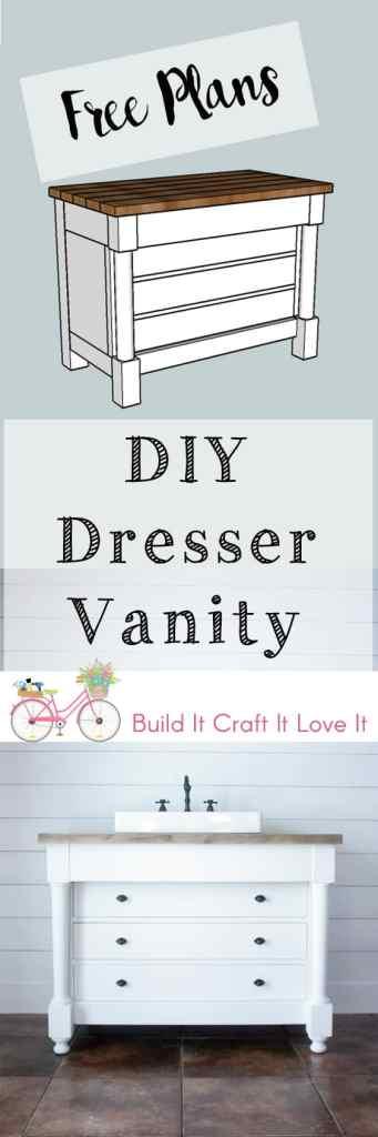 DIY Dresser Vanity - Build It Craft It Love It