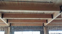 Exposed Wood Beams Laminated Pictures to Pin on Pinterest
