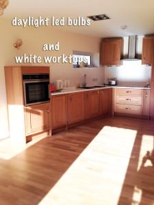 kitchen led ligts worktop