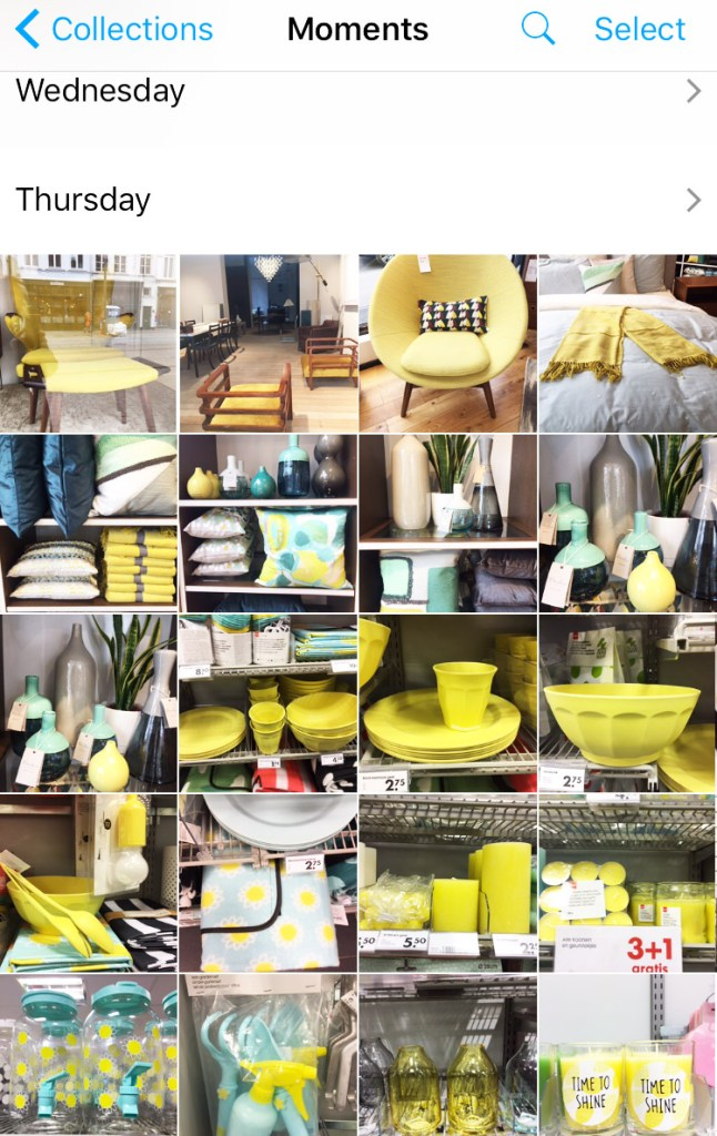 #how to make a mood board #yellow # happy #inspiration