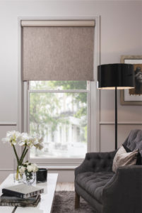 buildmumahouse, build mum a house, qmotion shades, qmotion blinds, john lewis blinds, john lewis shades, roller blind, motorised roller blind, automatic roller blind, taupe interior