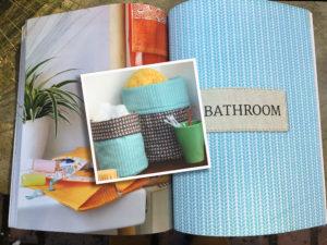 downsizing, storage, bathroom, craft, buildmumahouse, jola piesakowska, Fat Quarter Home Amanda Russell and Juliet Bawden, craft, sewing, home,