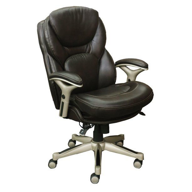 Serta Works Executive Leather Office Chair