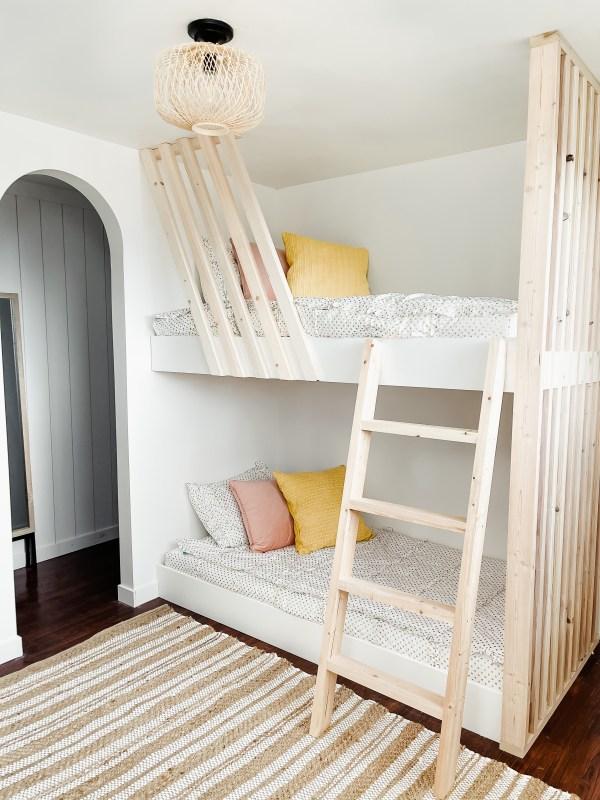 bunk bed girl's room