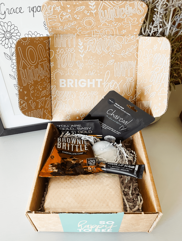 Brightbox curate box or build a box with treats