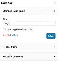 قم بإضافة نماذج تسجيل وتسجيل دخول المستخدم :