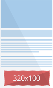 320*100 Google AdSense
