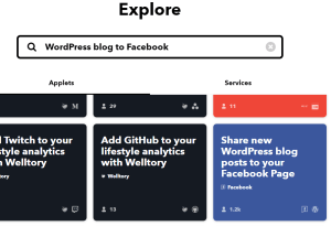 WordPress blog to Facebook
