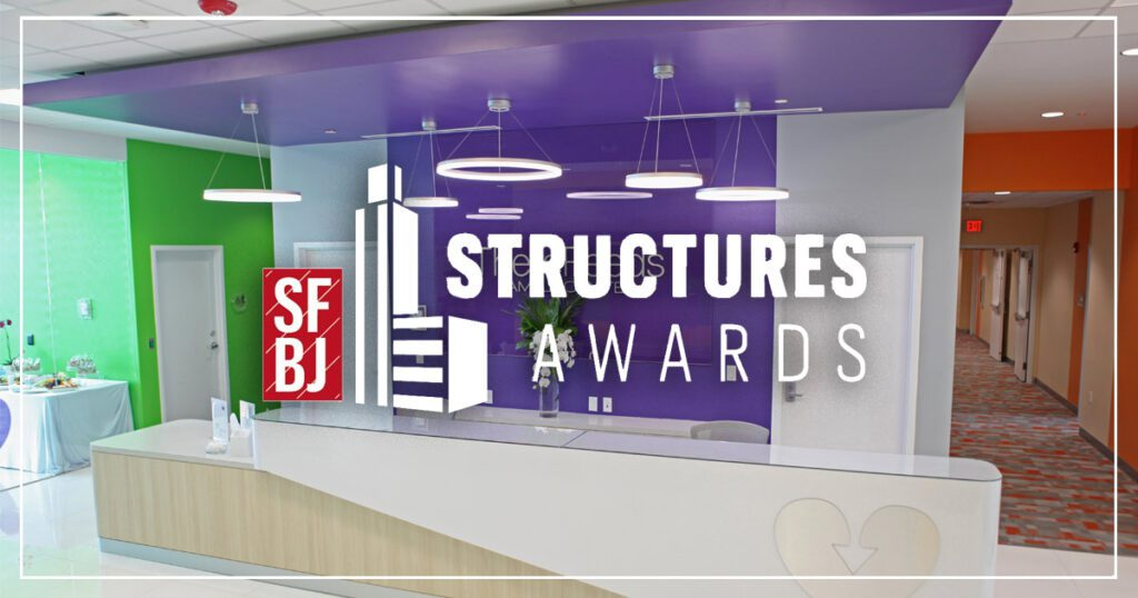 Therapeeds Family Center Structures Awards Finalist