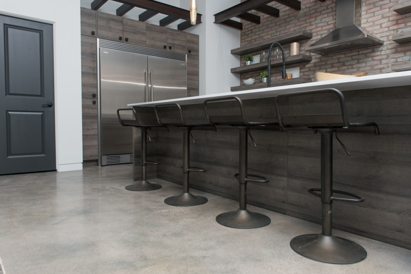 Kitchen Bar Stools - 3rd St New Build
