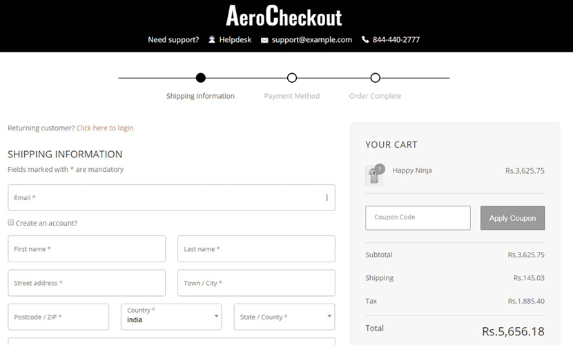 WooCommerce Checkout Pages by Aero: Say Good Bye To Leaky