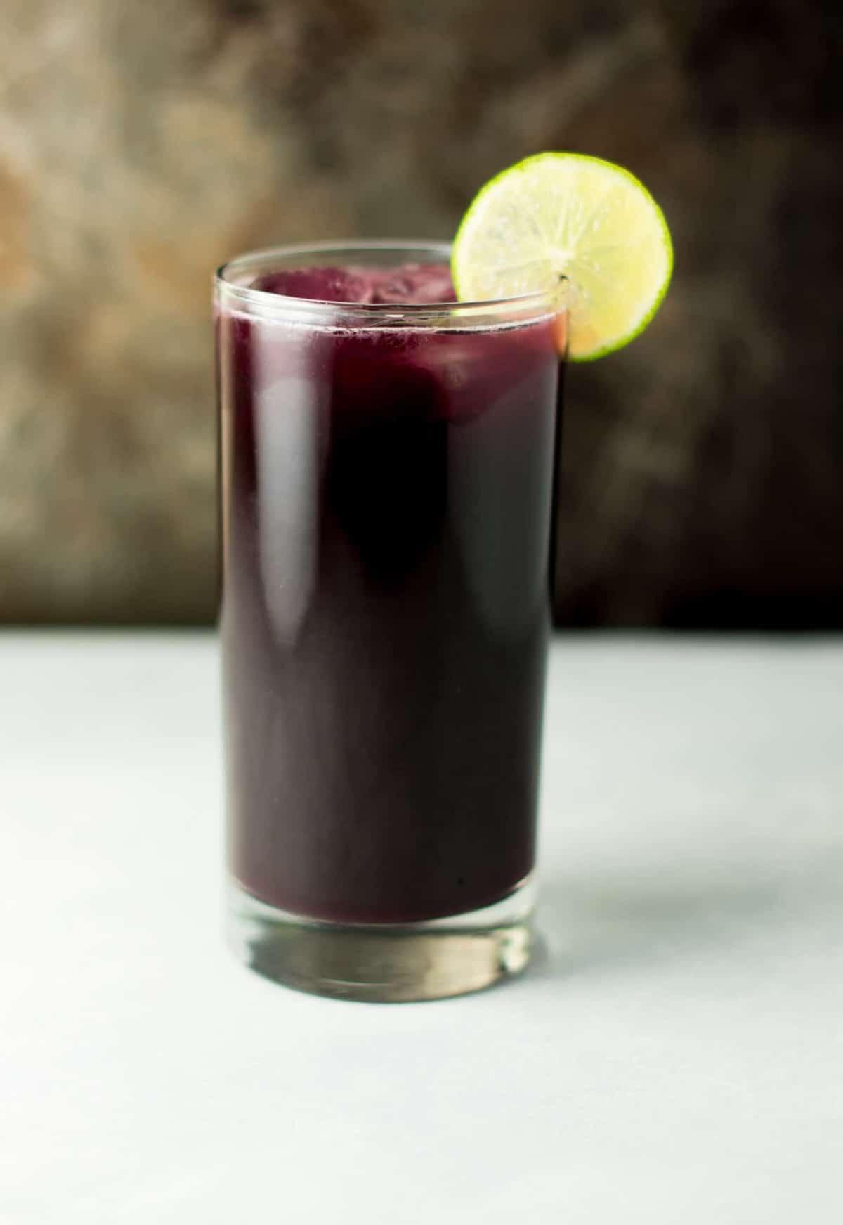 Homemade sparkling grape soda recipe - Build Your Bite