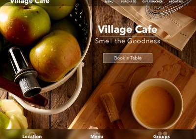 Village Cafe Web Site