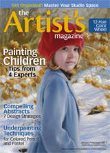 Lisa is Featured in The Artist's Magazine