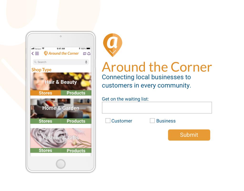 Around the Corner – Website