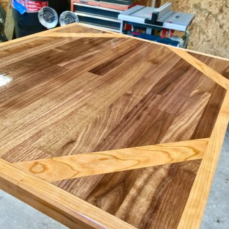 locally sourced natural wood from bainbridge island
