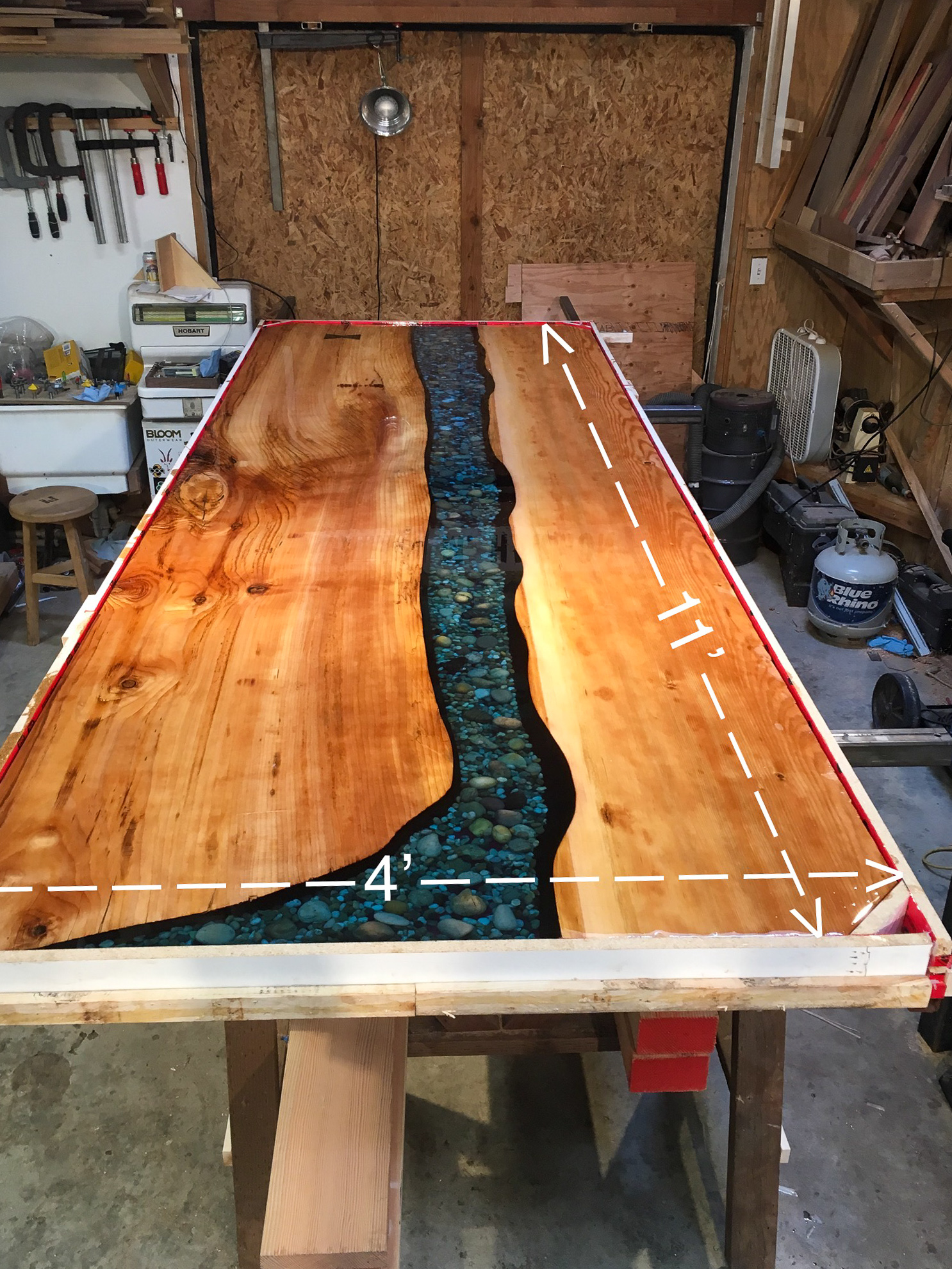 epoxy tips and tricks - builtben woodworking